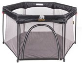 Deryan Portable PlayPen-Kinder Box met vaste matrasbodem opvouwbaar met draagbare tas- campingbedje
