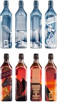 Johnnie Walker A Song of Ice & Fire bundle - 8 x 70 cl