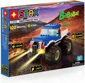 STAX Hybrid Monster Truck Blauw bouwen met licht en geluid