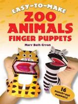 Easy to Make Zoo Animals Finger Puppets