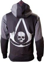 Assassin's Creed Hoodie met capuchon - Maat XL (Zwart Black Flag)
