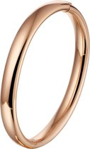 The Jewelry Collection Bangle Scharnier Ovale Buis 8 X 60 mm - Ros�goud