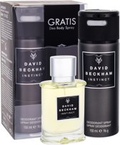 David Beckham Instinct 2-delige geschenkset - Herenparfum