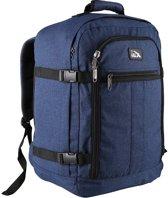 CabinMax Metz – Handbagage - Rugzak 30l– Schooltas - 45x35x20cm – Lichtgewicht - Blauw (MZ 30-BE)
