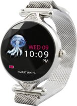 Point of View Smartwatch met metalen bandje - model
