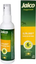 Jaico Muggenmelk Spray 9.5% Deet - Muggenspray - 100ml