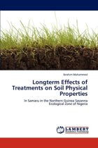 Longterm Effects of Treatments on Soil Physical Properties