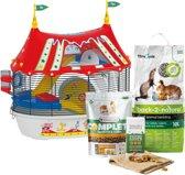 Hamsterkooiset Circus - Dierenverblijf - 49,5 x 34
