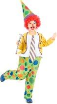 Clown outfit voor jongens - Maat 122/134
