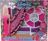 Eddy Toys Sieraden Maken Roze 700-delig