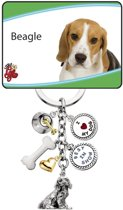 Little Gifts sleutelhanger Beagle