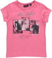 Blue Seven Meisjes T-shirt - Roze - Maat 98