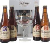 La Trappe Bierpakket - met Glas - 4 x 33 cl