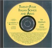 Twenty-Four Italian Songs & Arias Of The 17/18th Centuries - Medium-Low Voice