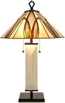 Tiffany Tafellamp Round & Square