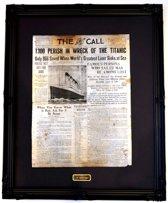Facsimile voorpagina The Call, San Fransisco 16 april 1912