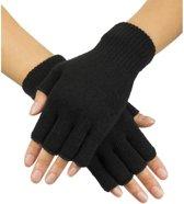 Pr. Vingerloze handschoenen zwart