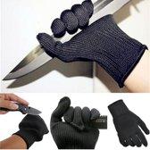 Roestvrij stalen handschoenen, werkhandschoen, bescherming