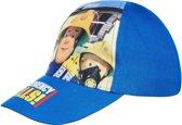 Brandweerman-Sam-Honkbal-pet-blauw - Maat 52