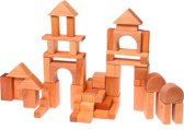 Grimm's houten blokken blank 60 delig