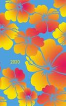 Hawaiian Floral 2020 Weekly Planner & 100 Page Notebook: Contains a page for every week of 2020 and 100 half-blank half-lined notebook pages
