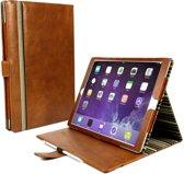 """Alston Craig vintage echt lederen staande positie hoes voor Apple iPad Pro 12.9"""" -Bruin"""