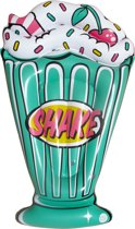 Opblaasfiguur Milkshake Retro *voor in het zwembad