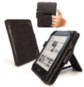 Tuff-Luv Hemp Embrace Plus case/stand Kindle Paperwhite zwart