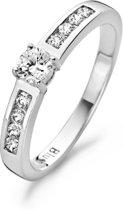 Blush Ring 1125WZI -  Wit Goud (14Krt.) met Zirconia