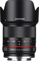 Samyang 21mm F1.4 Ed As Umc Cs - Prime lens - geschikt voor Fujifilm X - Zwart