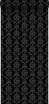 HD vliesbehang barok zwart - 136825 van ESTAhome.nl