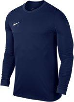 Nike Park VI LS  Sportshirt performance - Maat XS  - Unisex - blauw