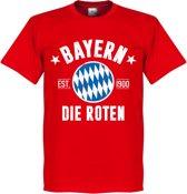 Bayern Munchen Established T-Shirt - Rood - XXL