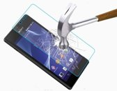 Actie 1+1 gratis Tempered Glass / Glazen display lcd Screen Protector Sony Xperia M4 Aqua