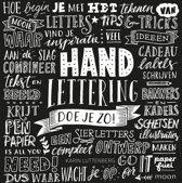 Boek Handlettering doe je zo! + Handletterig doe je zo!  Oefenboek + 12 stuks Pentel Handlettering  Pennen.