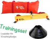 Trainingsset | Loopladder | trainingsladder | Speedladder | Pionnenset  | Zwart