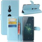 Hoesje voor Sony Xperia XZ2, 3-in-1 bookcase, blauw