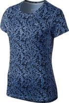 Nike Performance CAMISETA MANGA CURTA MILER Sportshirt chalk blue/reflective silver