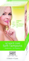 Hot Intimate Care Soft Tampons - 5 stuks
