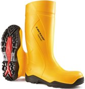 Dunlop C762241 Purofort+ knielaars S5 geel maat 48