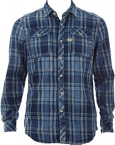 G-star flannel overhemd slim fit - Maat XS