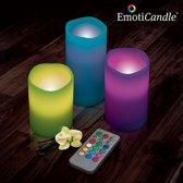 EmotiCandle LED Kaarsen (pak van 3)