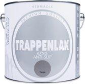 Hermadix Trappenlak antislip eXtra - 2,5 liter Taupe