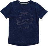 Blue Seven Jongens T-shirt - Blauw - Maat 128