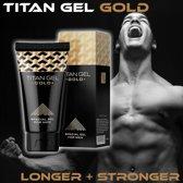 Hendels Garden Titan Gel Gold  – Intieme Gel voor mannen – 50ml