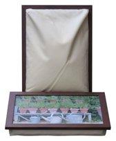 L-line by Jis Laptray, Schoottafel, schootkussen, laptoptafel, dienblad met kussen Gieters – 32,5 x 43 cm