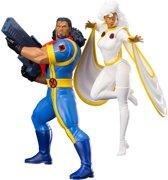 Kotobukiya Marvel: '92 X-Men - Bishop and Storm 1:10 Scale PVC Statue 2-Pack