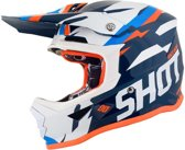 Shot Kinder Crosshelm Furious Score Blue/Neon Orange-M
