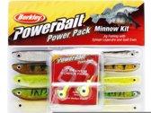 Berkley Powerbait Minnow Pro Pack - Shad - Assorti