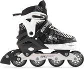 09868d35b25 SFR Pulsar Verstelbare Inline Skate Junior Inlineskates - Maat 35-40 -  Unisex - zwart